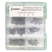 BA Stainless Steel Washer Assortment Pack