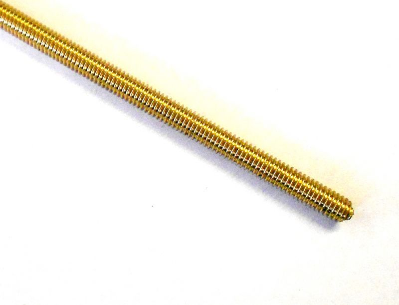 BA Brass Threaded Rod (Studding)