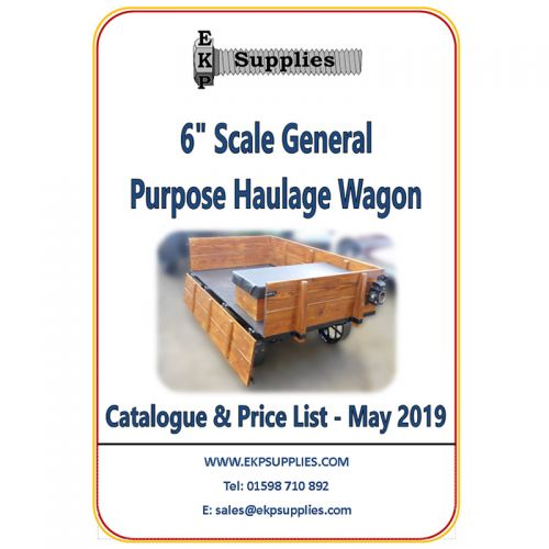 "EKP Supplies 6"" Scale General Purpose Wagon Catalogue"