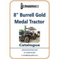 "EKP Supplies 8"" Burrell Gold Medal Tractor Catalogue"