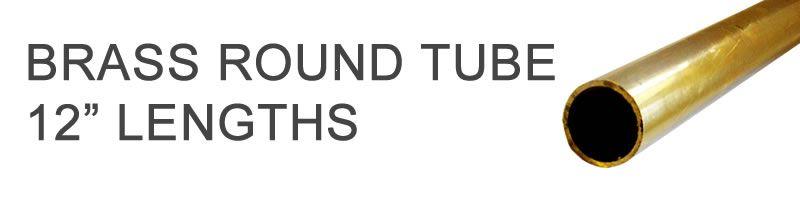 Brass Round Tube - 12
