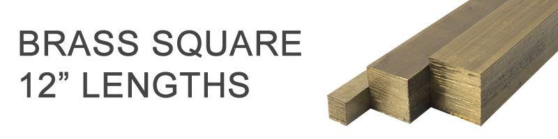Brass Square - 12
