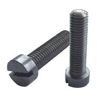 "1/4"" BSF x 1"" Cheesehead Steel Screws (pck 10)"