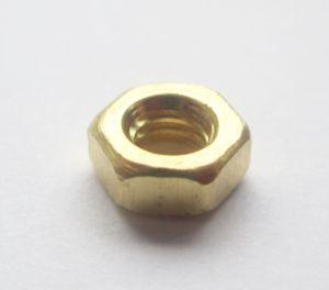 M5 Brass Full Nuts Qty 50