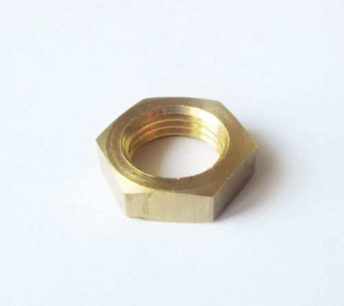 "1/4"" BSP Brass Lock Nut"