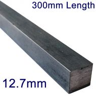 "12.7mm (1/2"") Stainless Steel Square Bar - 12"" Length"