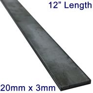 "20mm x 3mm Stainless Steel Flat Bar - 12"" Length"