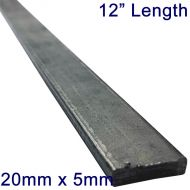 "20mm x 5mm Stainless Steel Flat Bar - 12"" Length"