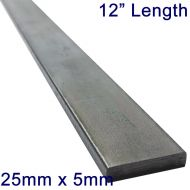 "25mm x 5mm Stainless Steel Flat Bar - 12"" Length"
