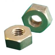 1/4 BSF Brass Full Nuts Qty 10