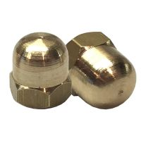 "3/16"" BSF Brass Dome Nut (pack 10)"