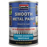 Granville Smooth Finish Metal Paint - Blue - 750ml Tin