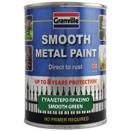 Granville Smooth Finish Metal Paint - Green - 750ml Tin