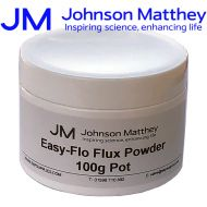 Johnson Matthey Easy-Flo Flux Powder - 100g