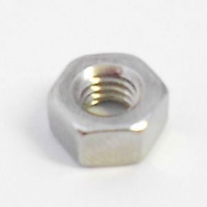 M4 Stainless Steel Full Nut - Qty 10