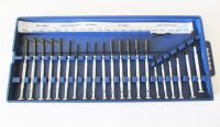 Precision Screwdriver 22pc Set - Assorted Screwdrivers, Nut Drivers and Spanners