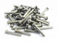 """3/16"""" x 1"""" Steel Rivets Qty 50"""
