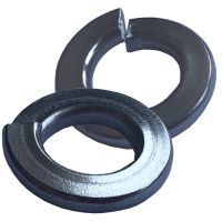 "5/16"" Steel Spring Washers - Qty 50"