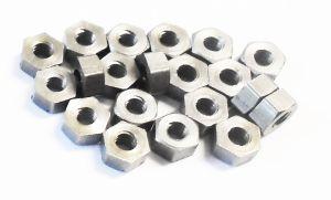 7BA Steel Small Nuts Qty 50