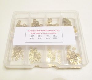 BA Brass Washer Assortment Box
