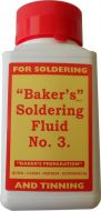 Bakers Soft Solder Fluid 125ml