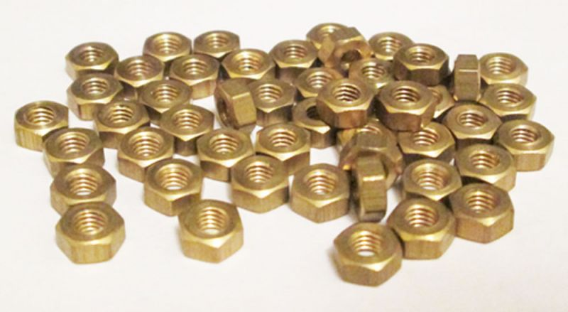 BSF and BSW Brass Full Nuts