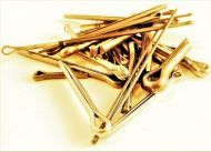 "3/32 x 1"" Brass Split Pins Qty 20"