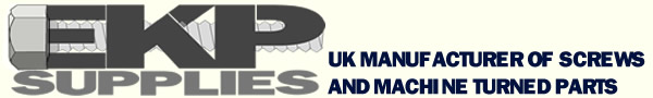 EKP Supplies UK Screw Manufacturer and Stockist - EKP Supplies - Precision Turned Parts for Model Engineering