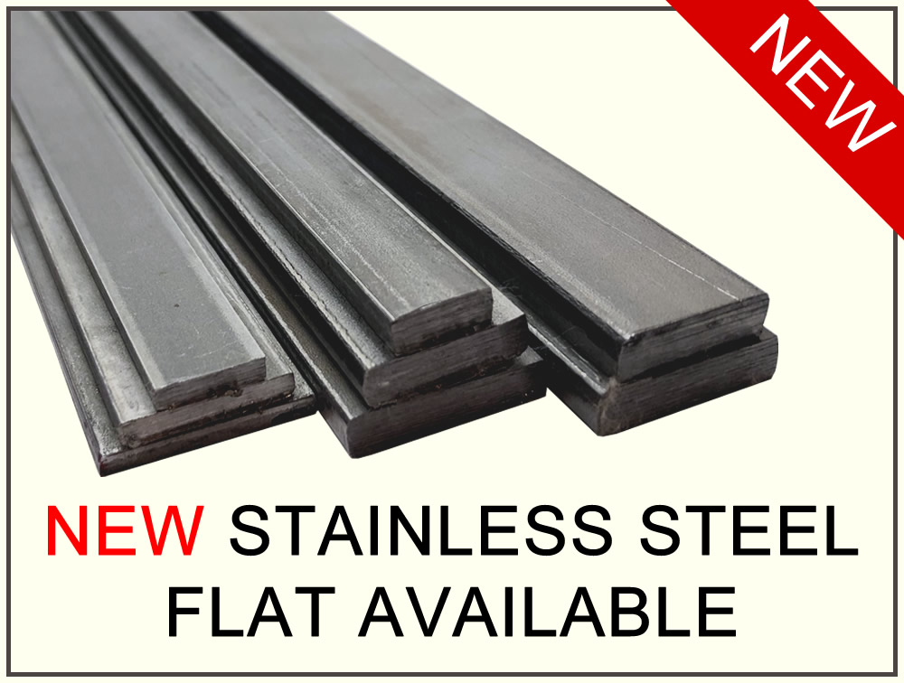 New Stainless Steel Flat Material - NOW AVAILABLE